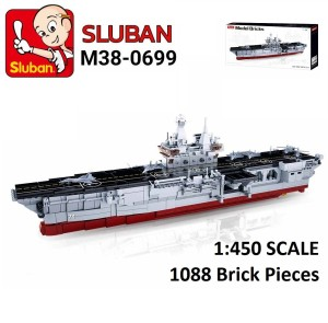 Harga brick sluban aircraft carrier assault ship kapal tempur 1 450 1088   HARGALOKA.COM