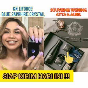 Harga kalung kesehatan kk liforce original wedding atta aurel   1 blue | HARGALOKA.COM