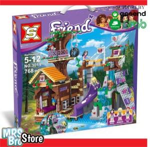 Harga lego friends adventure camp tree house merk sx 3019 lego rumah   HARGALOKA.COM