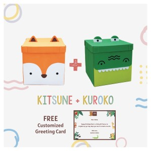 Harga kubo   free kartu ucapan   kubo kids kitsune kubo kids | HARGALOKA.COM