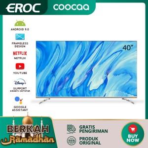 Harga coocaa 40 inch android 9 0 smart led tv infinity view fhd wifi 40s6g | HARGALOKA.COM