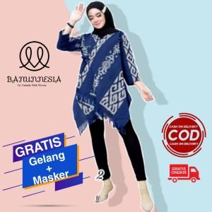 Harga baju blouse tenun etnik jepara blouse tenun baju atasan tenun b1   | HARGALOKA.COM