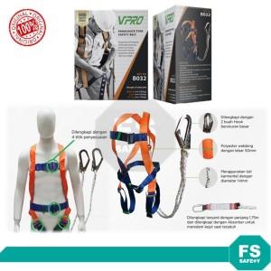 Harga vpro safety belt full body harness double hook besar shock   HARGALOKA.COM