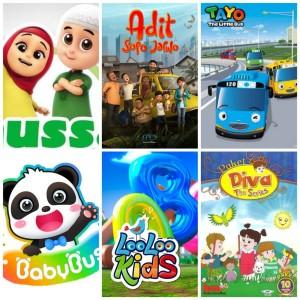 Harga film amp lagu video anak edukasi terbaik usb sandisk bonus | HARGALOKA.COM