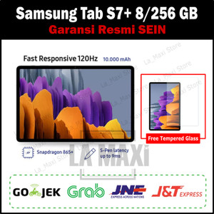 Harga samsung galaxy tab s7 tab s7 plus 8 256 gb 8gb 256gb garansi sein   | HARGALOKA.COM