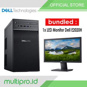 Harga server dell t40 xeon e 2224g 8gb 1tb sata poweredge led monitor | HARGALOKA.COM
