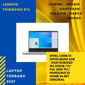 Harga laptop lenovo thinkpad layar full hd windows ori core i3 gen 10 8gb   | HARGALOKA.COM