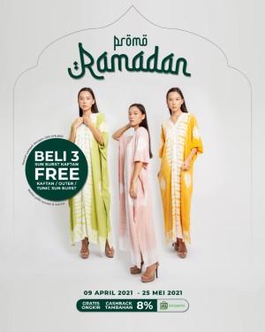 Harga promo ramadhan   beli 3 tie dye kaftan gratis 1 kaftan tunic | HARGALOKA.COM