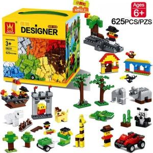 Harga blok designer wange box lego isi 625 | HARGALOKA.COM