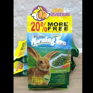 Katalog Morning Sun Baby Rabbit Small Bites Makanan Pelet Kelinci Rabbit Food Katalog.or.id