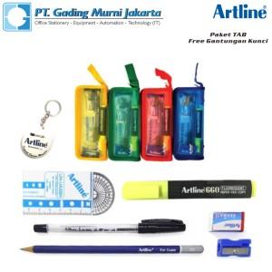 Harga paket alat tulis paket ujian sekolah artline tab 1 | HARGALOKA.COM
