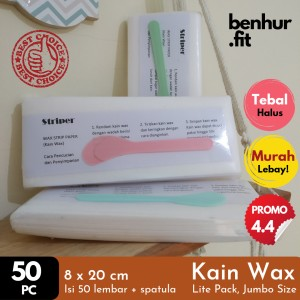 Harga Paper Wax Pencabut Bulu Hair Removal Strip Ukuran Besar 9x18 2 Katalog.or.id