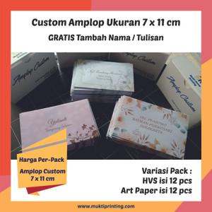 Harga custom print amplop kondangan amplop sumbangan amplop cetak nama amplo   hvs | HARGALOKA.COM