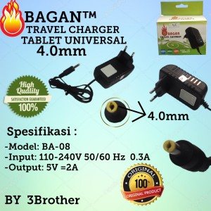 Harga adaptor charger universal 4 0mm tablet android 2a high | HARGALOKA.COM