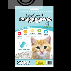 Info Pasir Kucing Kawan Cat Litter 20kg Pasir Gumpal Wangi Katalog.or.id