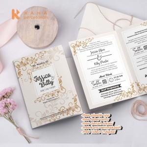 Info Blangko Kartu Undangan Pernikahan Murah Series Bc 055 Urat Kayu Katalog.or.id