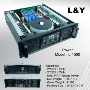 Harga Power Mohican M 580 4chanel Amplifier Katalog.or.id