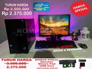Harga komputer intel core i5 lengkap monitor led | HARGALOKA.COM