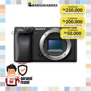 Harga sony alpha a6400 6400 mirrorless camera body only   garansi | HARGALOKA.COM