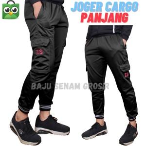 Harga celana panjang training joger olahraga pria tbscpj032   | HARGALOKA.COM