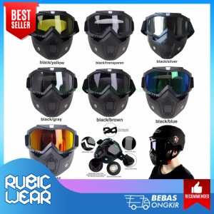 Info Skull Goggle Mask Black Universal Katalog.or.id