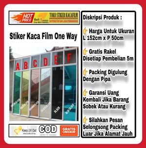 Katalog Sticker Kaca Film One Way 80 Katalog.or.id