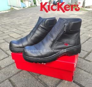 Katalog Promo Sepatu Proyek Safety Boots Kickers Byson Kulit Asli Katalog.or.id