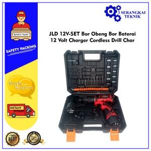 Info Impact Cordless Drill 12 Volt Mesin Bor Baterai Set 26 Pcs Katalog.or.id