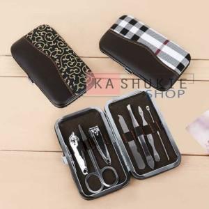 Harga Premium Gunting Kuku Set 7 Pcs Alat Manicure Pedicure Stainless Steel Katalog.or.id