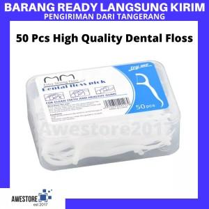 Harga Halodent Dental Floss With Toothpick 25pcs Katalog.or.id
