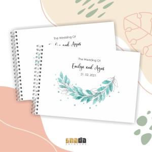 Harga Buku Tamu Renda Pernikahan Isi 2 Buku Katalog.or.id