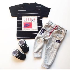 Harga nikee air jordan suit setelan bayi laki laki murah baju bayi | HARGALOKA.COM