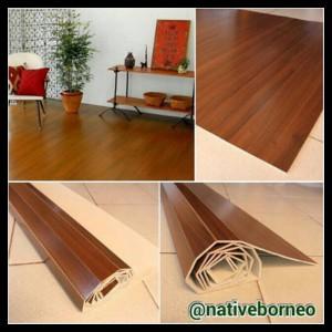 Harga 120x200 karpet kayu gulung karpet plywood lampit kayu   HARGALOKA.COM
