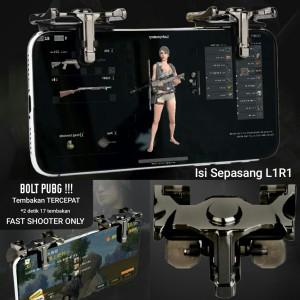 Harga bolt pubg shooter l1r1 fast fire chicken king gaming joystick   HARGALOKA.COM