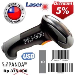 Harga barcode scanner 1d laser tangan panda prj 900 usb tanpa stand | HARGALOKA.COM
