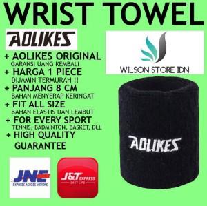 Harga aolikes wristband hand wrist band towel gelang handuk tangan   HARGALOKA.COM