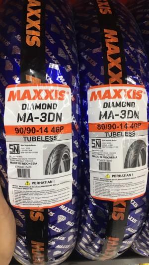 Harga ban maxxis diamond ma3dn sepasang 80 90 14 amp 90 | HARGALOKA.COM