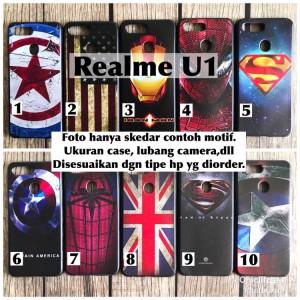 Harga man case softcase oppo realme u1 avengers captain iron | HARGALOKA.COM