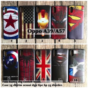 Harga softcase man case oppo a39 a57 avengers bendera captain | HARGALOKA.COM