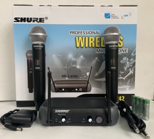 Harga mic wireless shure pgx242 limited | HARGALOKA.COM
