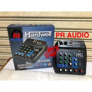 Harga mixer audio hardwell dj1000 dj 1000 original 4 channel best | HARGALOKA.COM