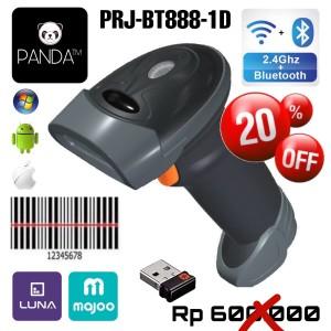 Harga wireless bluetooth panda prj 393 laser barcode scanner best | HARGALOKA.COM