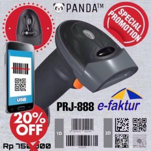 Harga barcode scanner e faktur 2d 1d panda prj 888 qr code efaktur aztec | HARGALOKA.COM