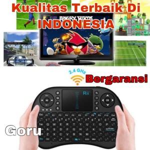 Harga keyboard mini wireless i8 2 4g mouse android tv box pc game remote   HARGALOKA.COM