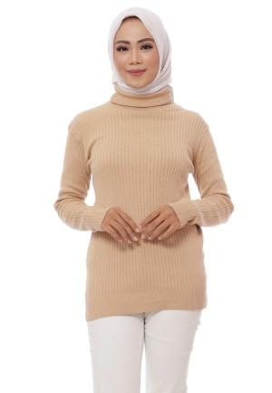 Harga turtleneck basic premium sweater krah tinggi | HARGALOKA.COM