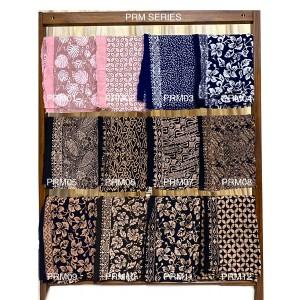 Harga kain batik cap paris black prb series kain lilit rok | HARGALOKA.COM