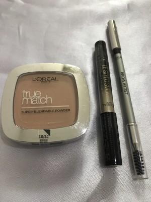 Harga sale paket promo loreal bedak eyeshadow pensil alis 3in | HARGALOKA.COM