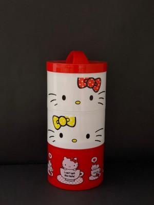 Harga tempat makan bento hello kitty original lisensi | HARGALOKA.COM