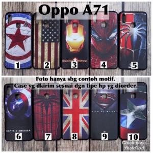 Harga softcase man case oppo a71 marvel avenger superheroes bendera usa | HARGALOKA.COM