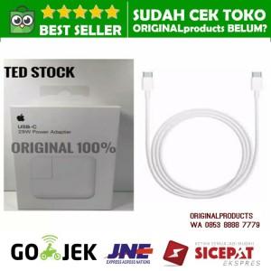 Harga paket 29w magsafe adapter charger new macbook 12 kabel usb c 2m ori   magsafe | HARGALOKA.COM